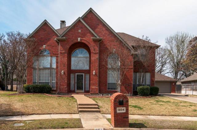 1604 Birchmont Lane, Keller, TX 76248 (MLS #13798497) :: The Marriott Group
