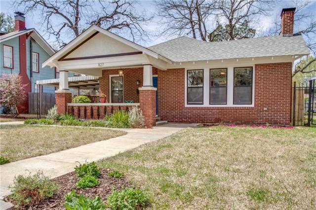 827 Woodlawn Avenue, Dallas, TX 75208 (MLS #13798671) :: Team Hodnett