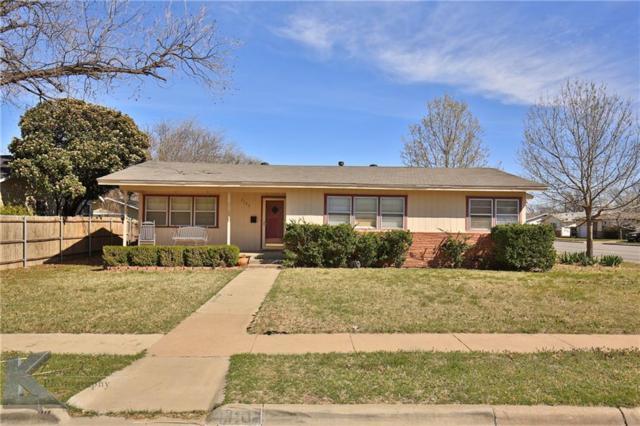 3102 S 21st Street, Abilene, TX 79605 (MLS #13798885) :: Team Hodnett