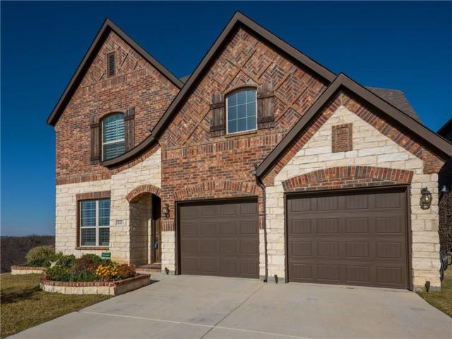 4701 Crimson Bluffs Way, Fort Worth, TX 76262 (MLS #13798966) :: The Marriott Group