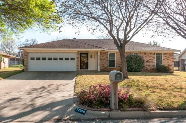 7004 Stoneridge Drive, North Richland Hills, TX 76182 (MLS #13799106) :: Robinson Clay