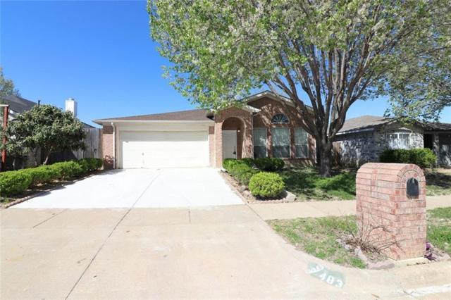 403 Faircrest Drive, Arlington, TX 76018 (MLS #13799444) :: Team Hodnett