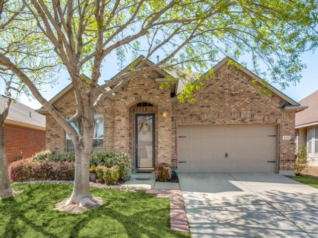 5413 Balmorhea Drive, Denton, TX 76226 (MLS #13800089) :: Team Hodnett