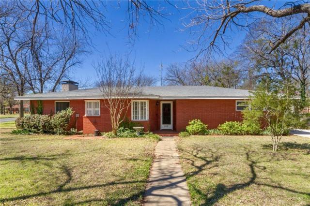 912 Forrest Avenue, Cleburne, TX 76033 (MLS #13800640) :: Team Hodnett