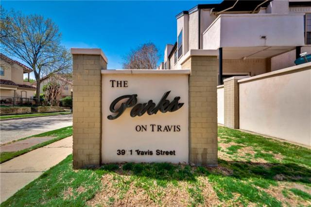 3901 Travis Street #110, Dallas, TX 75204 (MLS #13801248) :: Baldree Home Team