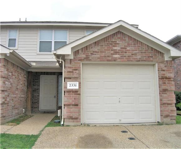 2331 Kingsway Drive, Arlington, TX 76012 (MLS #13801990) :: Cassandra & Co.