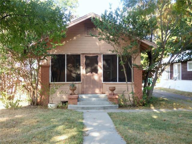 1307 S Seaman Street, Eastland, TX 76448 (MLS #13806013) :: Team Hodnett