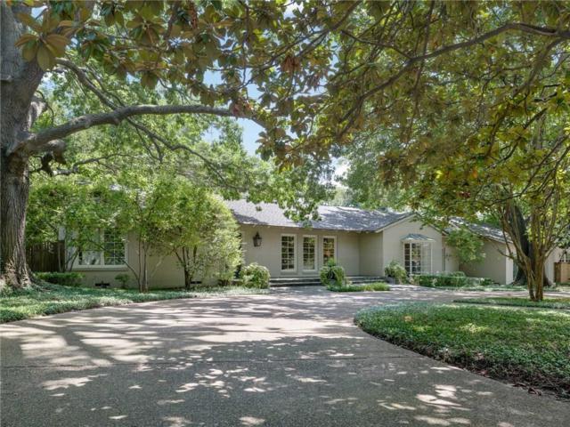5322 Wateka Drive, Dallas, TX 75209 (MLS #13807362) :: RE/MAX Town & Country