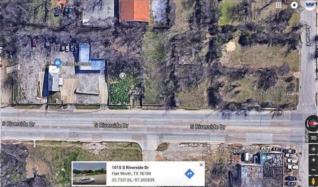 1015 S Riverside Drive, Fort Worth, TX 76104 (MLS #13809937) :: The Heyl Group at Keller Williams