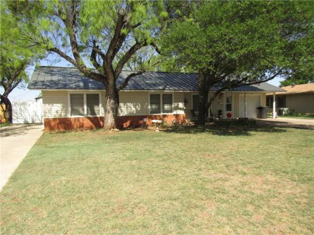718 Hawthorne Street, Abilene, TX 79605 (MLS #13810090) :: RE/MAX Town & Country