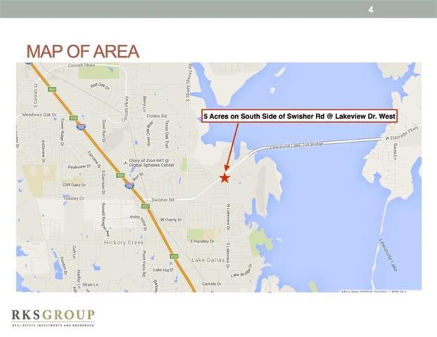 502 E Swisher Road, Lake Dallas, TX 75065 (MLS #13810586) :: Frankie Arthur Real Estate