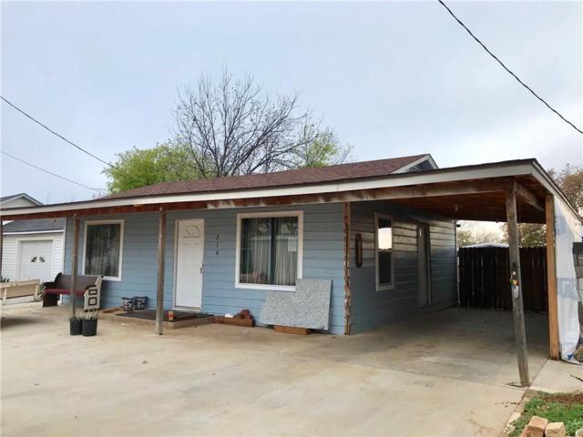 210 Ohio Avenue, Graham, TX 76450 (MLS #13810952) :: Team Hodnett