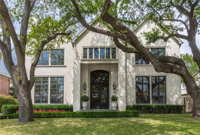 4430 Arcady Avenue, Highland Park, TX 75205 (MLS #13811275) :: Team Hodnett