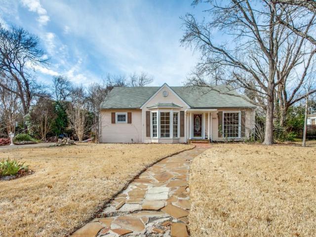 1421 El Campo Drive, Dallas, TX 75218 (MLS #13811346) :: The Real Estate Station