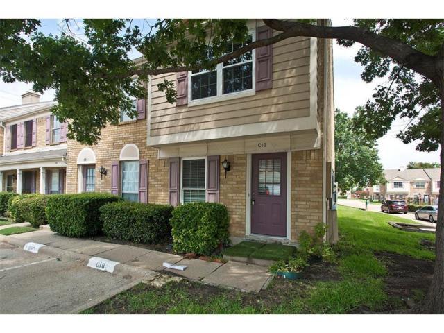 609 Carriagehouse Lane C10, Garland, TX 75040 (MLS #13812021) :: Ebby Halliday Realtors