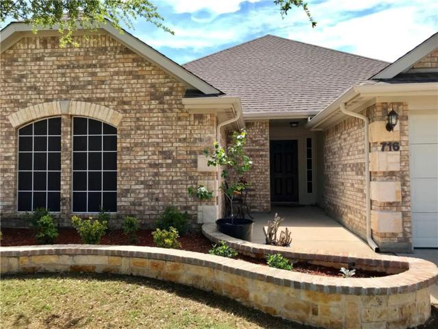 716 Plum Drive, Burleson, TX 76028 (MLS #13812090) :: The FIRE Group at Keller Williams