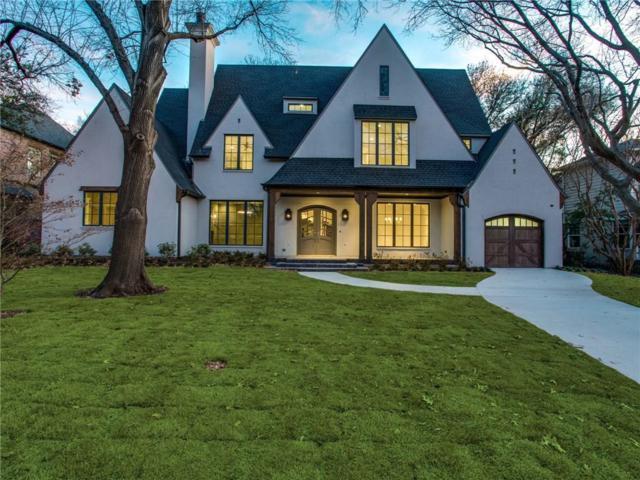 5626 Greenbrier Drive, Dallas, TX 75209 (MLS #13812711) :: Team Hodnett