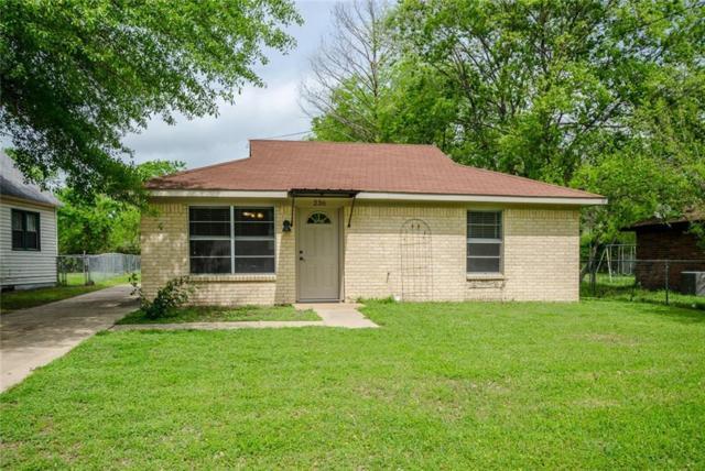 236 Mamie Avenue, Corsicana, TX 75110 (MLS #13812780) :: Team Tiller
