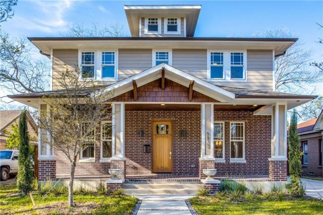 5837 Llano Avenue, Dallas, TX 75206 (MLS #13813365) :: RE/MAX Landmark