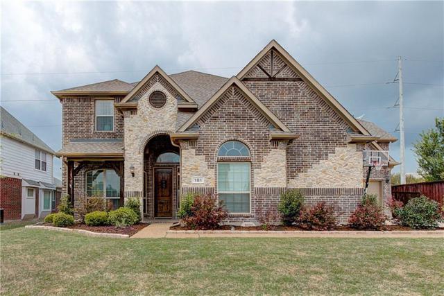 181 Chapel Hill Drive, Prosper, TX 75078 (MLS #13813418) :: Magnolia Realty