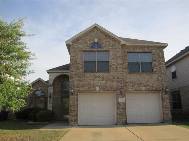 313 Crescent Creek Lane, Fort Worth, TX 76140 (MLS #13813549) :: NewHomePrograms.com LLC