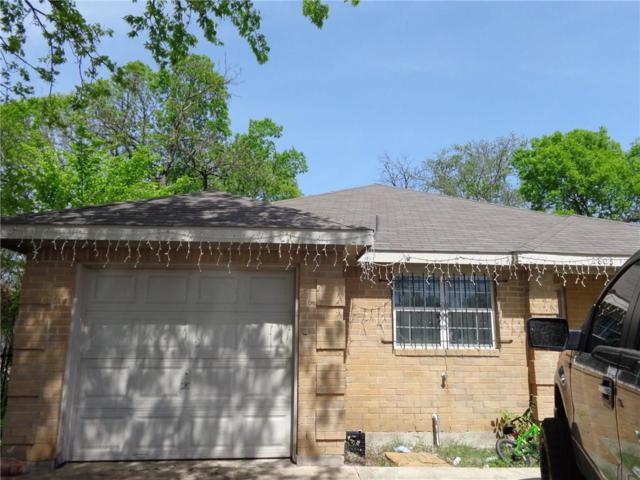 2803 Fordham Road, Dallas, TX 75216 (MLS #13814211) :: Baldree Home Team