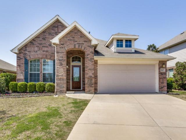 15657 Yarberry Drive, Fort Worth, TX 76262 (MLS #13816912) :: NewHomePrograms.com LLC