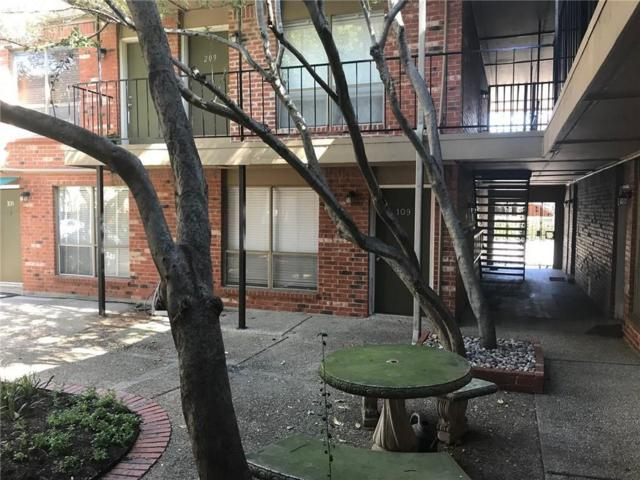 4525 Gilbert Avenue #109, Dallas, TX 75219 (MLS #13817259) :: Magnolia Realty