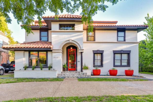 4669 Mockingbird Lane, Highland Park, TX 75209 (MLS #13817739) :: Frankie Arthur Real Estate