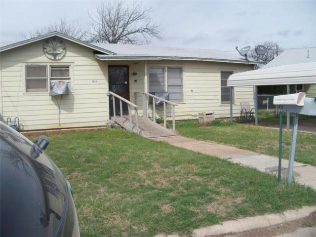 1006 N Nueces Street S, Coleman, TX 76834 (MLS #13818041) :: Kimberly Davis & Associates