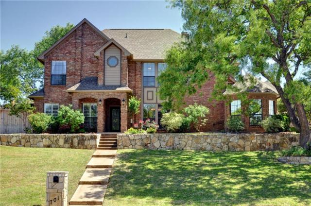 701 Saddlebrook Drive, Colleyville, TX 76034 (MLS #13818755) :: North Texas Team | RE/MAX Advantage