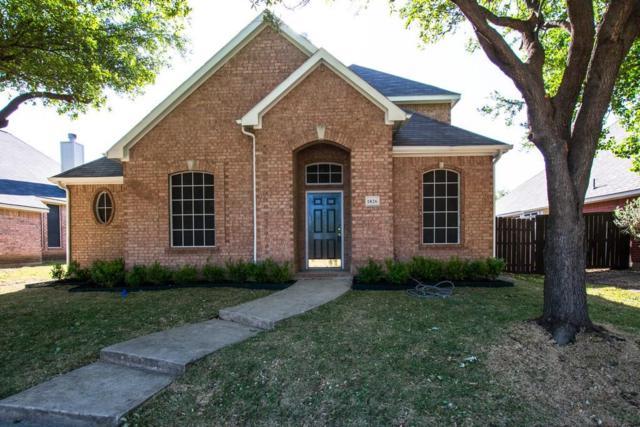 1826 Crosshaven Drive, Lewisville, TX 75077 (MLS #13819000) :: Frankie Arthur Real Estate