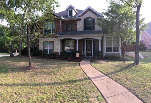 631 Creekwood Lane, Grand Prairie, TX 75052 (MLS #13819303) :: The FIRE Group at Keller Williams