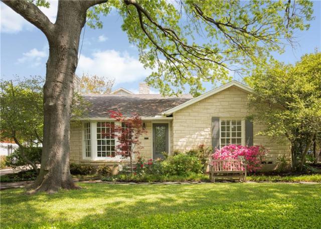 8720 Canyon Drive, Dallas, TX 75209 (MLS #13819403) :: Frankie Arthur Real Estate