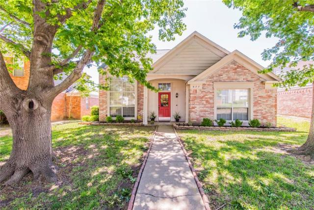 877 Chaparral Drive, Grand Prairie, TX 75052 (MLS #13819601) :: Keller Williams Realty