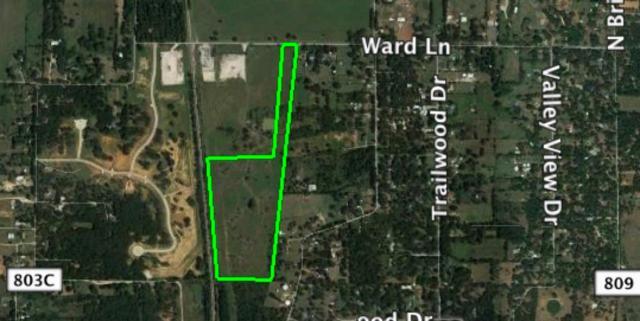 TBD Ward Lane, Burleson, TX 76028 (MLS #13819744) :: The Chad Smith Team
