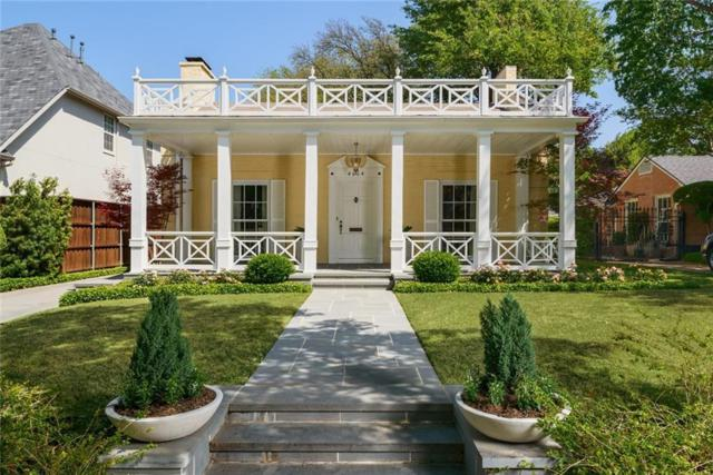 4664 Livingston Avenue, Highland Park, TX 75209 (MLS #13820353) :: Team Hodnett