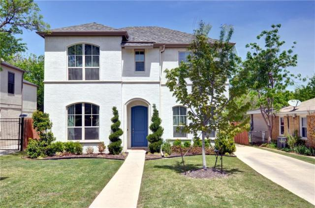3758 W 4th Street, Fort Worth, TX 76107 (MLS #13820612) :: Kindle Realty