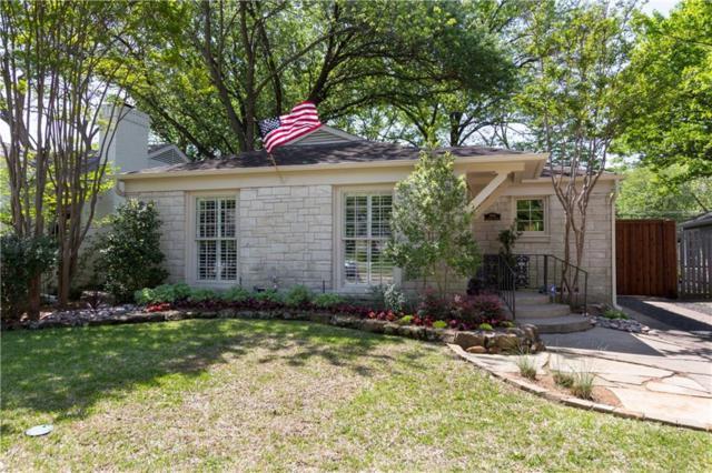 5618 Stanford Avenue, Dallas, TX 75209 (MLS #13822111) :: Frankie Arthur Real Estate