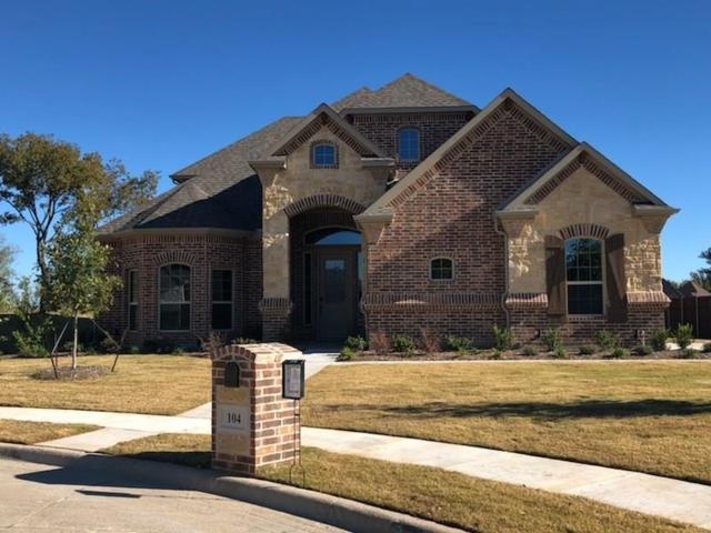 104 Bunker Court, Waxahachie, TX 75165 (MLS #13822178) :: The FIRE Group at Keller Williams