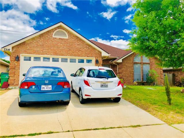 7316 Amber Drive, Watauga, TX 76148 (MLS #13823955) :: Cassandra & Co.