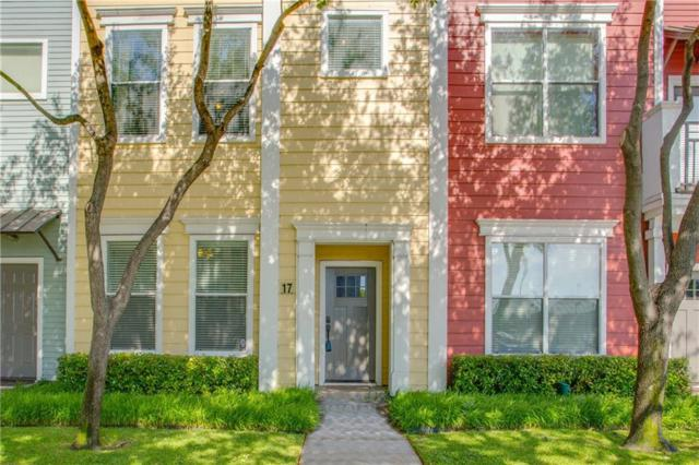 4121 Mckinney Avenue #17, Dallas, TX 75204 (MLS #13823964) :: Magnolia Realty