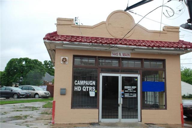 1445 N Main Street, Fort Worth, TX 76164 (MLS #13824804) :: Magnolia Realty