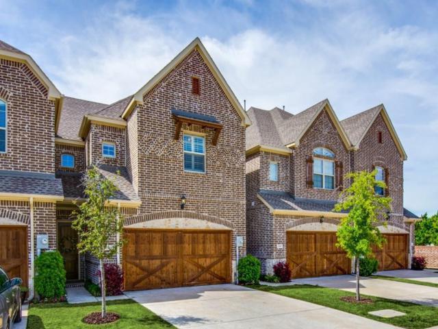 110 Preserve Place, Lewisville, TX 75067 (MLS #13824867) :: Kimberly Davis & Associates