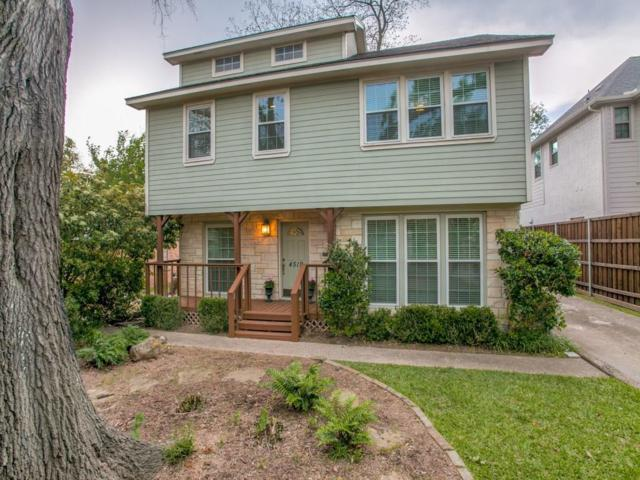 4519 Elsby Avenue, Dallas, TX 75209 (MLS #13824911) :: Team Tiller