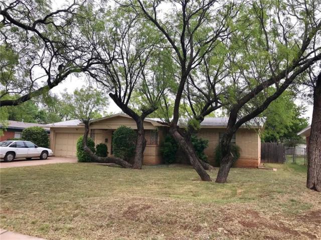 1601 N Willis Street, Abilene, TX 79603 (MLS #13825465) :: RE/MAX Landmark