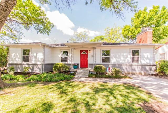 653 Milton Street, Lewisville, TX 75057 (MLS #13825520) :: Kimberly Davis & Associates