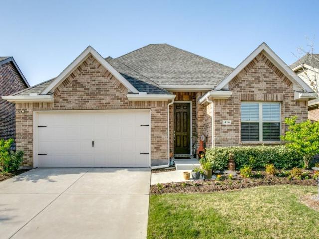 416 Barnstorm Drive, Celina, TX 75009 (MLS #13826588) :: Kimberly Davis & Associates