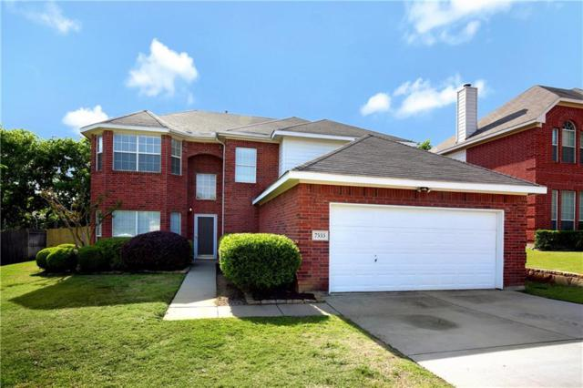 7533 Parkgate Drive, Fort Worth, TX 76137 (MLS #13826705) :: RE/MAX Town & Country