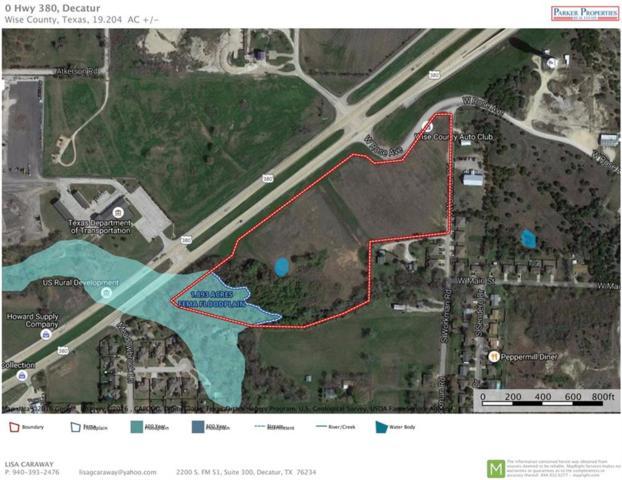 NA Hwy 380, Decatur, TX 76234 (MLS #13827063) :: The Heyl Group at Keller Williams